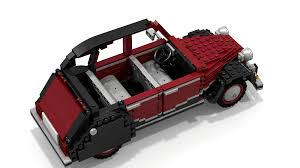 lego jeep wrangler instructions lego ideas citroën 2cv charleston
