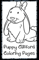 clifford coloring pages clifford puppy printables pbs kids