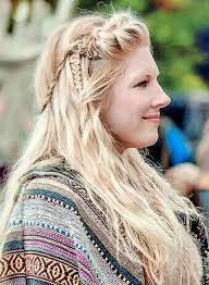 lagertha lothbrok hair braided electra hair brush straightener review viking hair lagertha and