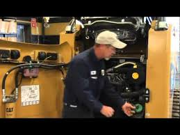 ask dale 250 hour skid steer service michigan cat youtube