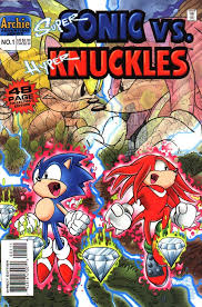 image super sonic vs hyper knuckles front cover png sonic news