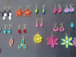 home made earrings what are some of the easiest methods to make jewellery