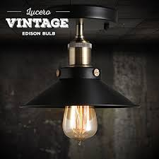 Edison Bulb Sconce Lucero Edison Bulb 60w With Squirrel Cage Filament St58 Vintage
