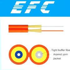 zip cord fiber optic cable mode 2 core fiber optic cable