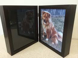 majestic memories shadowbox mahogany dog cat u0026 horse urns