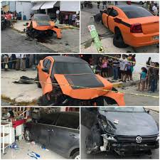 six injured in car crash in cancun the yucatan times