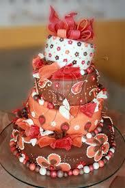 597 best orange peach wedding cakes images on pinterest peach