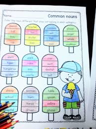 common and proper nouns worksheets common and proper nouns