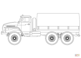army truck coloring page free printable coloring pages