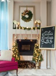 and elegant christmas mantel decorations