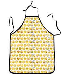 funny kitchen apron wholesales for emoji pattern lovely cat