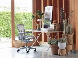 Office Chair Side View Vector Aeron Chair Herman Miller