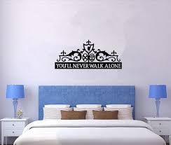home decor drop shipping removable sports motivational quotes vinyl decal stencil wall