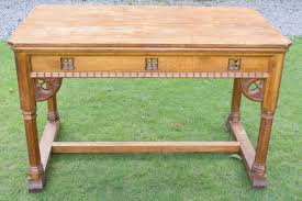 Arts And Crafts Writing Desk Arts And Crafts Oak Centre Table In The Manner Of Arthur Simpson C