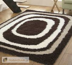 Modern Style Rugs Mont Blanc Mb01 Chocolate Modern Style Rugs Marvellous Looking