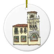 california mission ornaments keepsake ornaments zazzle