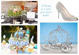 Cinderella Centerpieces Disney Cinderella Carriage And Centerpieces