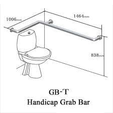 bathroom handicap bathroom grab bar astonishing on in the