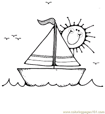 boat coloring page 16 coloring page free water transport