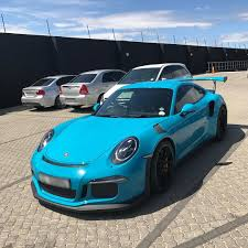 miami blue porsche turbo s miami blue gt3 rs in cape town via matthewblows exoticspotsa