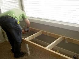 Window Seat Bench - how to make a window seat bench u2013 pollera org