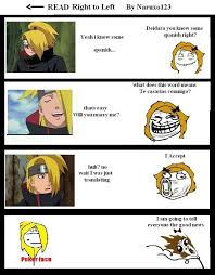 Foto Meme Comic - my deidara meme comic by naruxo123 on deviantart