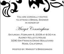 Bridal Shower Invite Wording Wedding Shower Invitation Reduxsquad Com