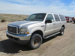 Ford Excursion New 2002 Ford Excursion Suv Item K3835 Sold May 23 Sharpe R