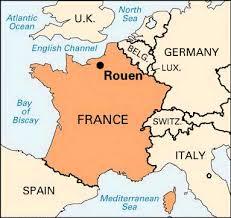 map of rouen rouen location students britannica homework help