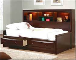 simple full size bed frame with drawers u2014 modern storage twin bed