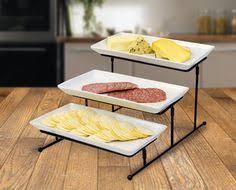 premiere cobalt blue wine glass set buffet server tiered stand