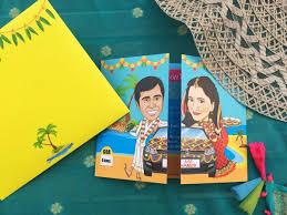 Creative Indian Wedding Invitations Creative Fun And Unique Indian Wedding Invitation Card Ideas