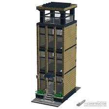 lego office lego moc 6126 office tower modular building modular buildings