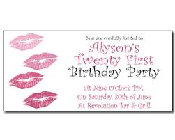 21st birthday invitations and special occasions 21st birthday