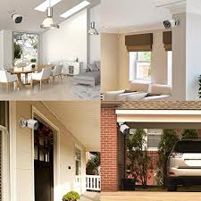 interior home security cameras zmodo 8ch smart poe surveillance system 4 x720p outdoor 4