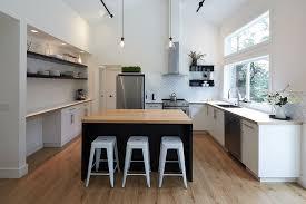 ilots central cuisine cuisine avec ilots central ilot deco tendance idees lzzy co