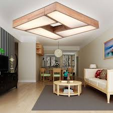 lights dimming in house modern minimalist led ceiling lights dimming wood living room