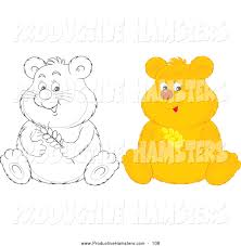 royalty free coloring pages to print stock hamster designs