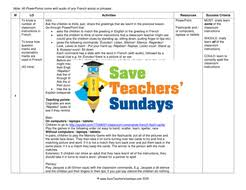 classroom instructions in french ks2 lesson plan powerpoint and