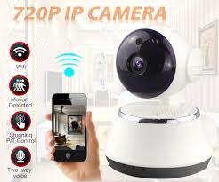 Aa Wifi Wireless 720p Tilt Network Security Cctv Ip Camera Night Vision