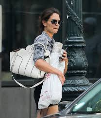 katie holmes shopping for home decor in new york city celebzz