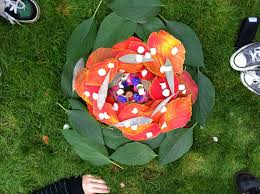 play ideas nature art inspired by andy goldsworthy