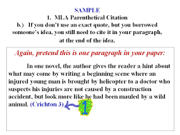 powerpoint tips on writing citations and a works cited page for