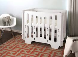 Mini Crib White Noni Mini Crib White