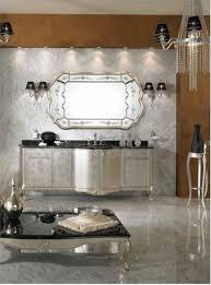 elegant bathroom with mirrored vanity table u2014 steveb interior