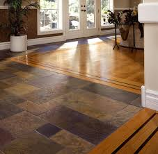 tile tile and wood floor combination decorate ideas