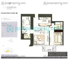 address fountain views 3 floor plans justproperty com