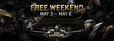 ubisoft announces year 3 ubisoft announces for honor free weekend may 3 6 comix asylum