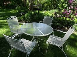Patio Furniture Wrought Iron by 71 Best Vintage Patio Images On Pinterest Vintage Patio