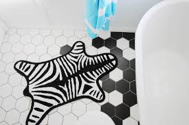 Zebra Bath Rug January 2016 Northern Style Exposure